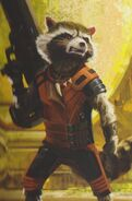 GOTG Vol. 2 concept art Rocket 3