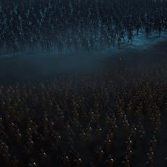 Los ejércitos de Asgard y Jotunheim se enfrentan en una feroz batalla.