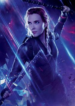 Avengers Endgame - Póster sin texto Natalia Romanoff