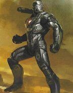 Avengers Endgame concept art War Machine 5