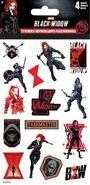 BW Sticker Sheet