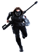 Bucky Masked Running TWS Render