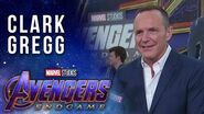 Clark Gregg looks back on Coulson LIVE at the Avengers Endgame Premiere