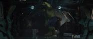 Hulk in Quinjet
