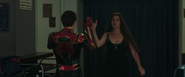 Iron Spider & May Parker