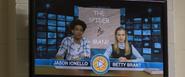 Jason & Betty thank the Spider-Man (Midtown High News)