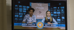 Jason & Betty thank the Spider-Man (Midtown High News)