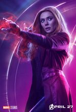 Avengers Infinity War Scarlett Witch Poster