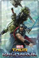 Hulk and Thor Ragnarok Promo