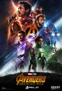 Infinity War Dolby poster 1