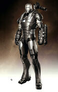 Iron Man 2 2010 concept art 13