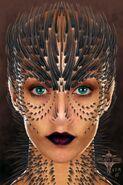 Raina Face Concept Art 1