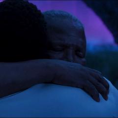 T'Chaka y T'Challa se reencuentran en el Plano Astral.