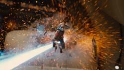Ant-Man explosion