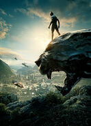 Black Panther Textless SDCC Poster
