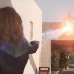 Vers le dispara a un Espía Skrull.