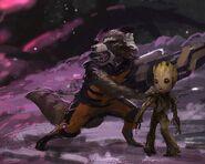 Guardians of the Galaxy Vol. 2 2017 concept art 46