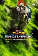 Hulk Character Poster Thor Ragnarok