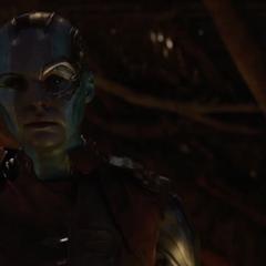 Nebula afirma que Thanos no está mintiendo.