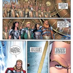 Thor reúne al ejército Asgardiano.