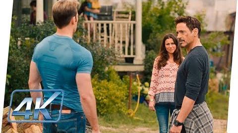 Tony Stark a Steve 'No Confió en Alguien sin un Lado Oscuro' Age Of Ultron (2015) Español Latino