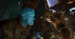 Yondu and Rocket