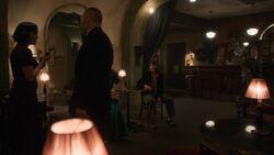 Coulson listens to Melinda May