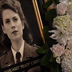 Carter es honrada con una fotografía de su juventud.