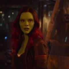 Gamora descubre la trampa de Thanos.