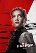 Yelena Belova Character Poster