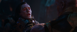 AIW Loki is Choked to Death
