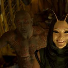 Mantis se una a los Guardianes en la batalla contra Ego.
