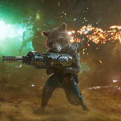 Rocket se reúne con los otros Guardianes.