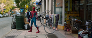 Spider-Man & Bike (Homecoming)