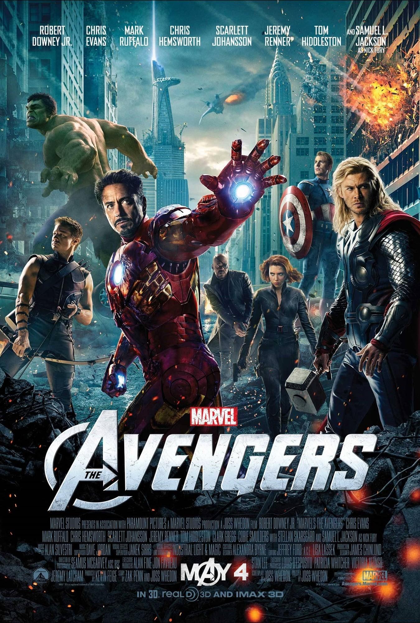 Resultado de imagen para The Avengers: Los Vengadores (2012)