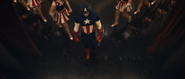 USO Captain America (Aerial View)