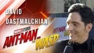 David Dastmalchian at Marvel Studios' Ant-Man and The Wasp Premiere
