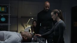 Simmons activates Coulson