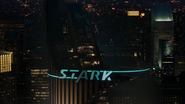 Stark Tower Lighting Up