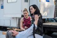 Jessica and Trish threating Max