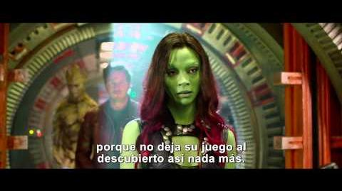 Guardianes de la Galaxia Ella es Gamora