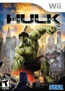 Hulk Wii US Box