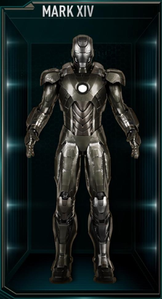 Iron Man Armor Mark XIV Marvel Cinematic Universe Wiki