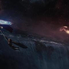 Thor y Loki son atrapados por Odín.