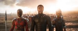 Okoye, Black Panther & Shuri
