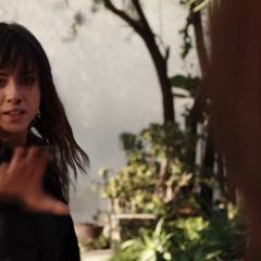 Skye a punto de atacar a May con sus poderes.