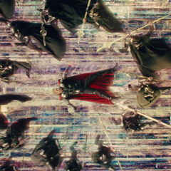 Thor es atacado por las ilusiones de Loki en el Puente Arcoíris.