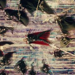 Loki confronta a Thor mediante el uso de ilusiones.