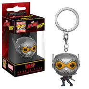 Wasp Pop Keychain