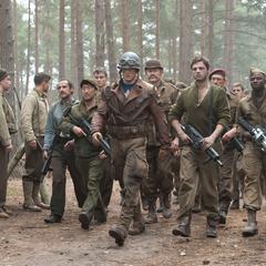 Rogers regresa con los soldados al Campamento Lehigh